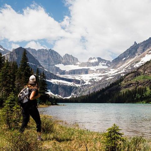 glacier national park views